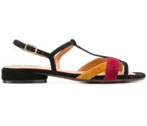 colour block sandals