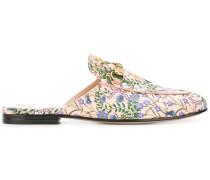 'Princetown' Mules mit floralem Print