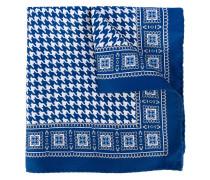 houndstooth print scarf - men - Seide