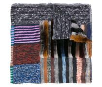 Schal im Patchwork-Stil