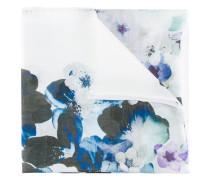 Schal mit floralem Print - women - Wolle/Seide