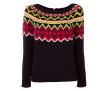 fair isle knit jumper