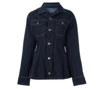 Jeansjacke mit schmalem Passform