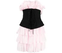 Kleid mit Korsett