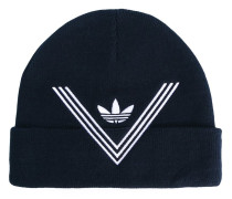 x White Mountaineering embroidered beanie