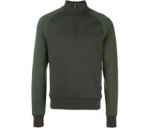 Sweatshirt mit hohem Stehkragen