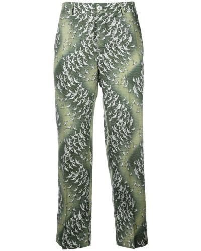 'Tartaro' Pyjama-Hose aus Seide