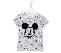 T-Shirt mit Mickey-Maus-Print