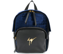 Carey logo plaque backpack