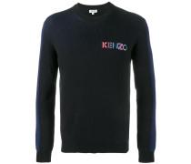 Pullover mit Logo-Stickerei - men - Baumwolle