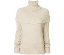 Pullover im Cape-Stil