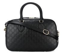 - 'Signature Boston' Handtasche - women - Leder
