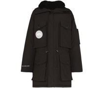 X Juun.J Expedition hooded parka coat