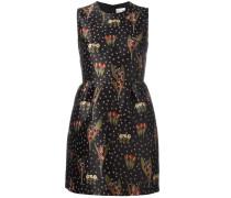 Ausgestelltes Kleid mit Blumenmuster - women