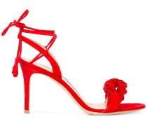Sandalen mit gerüschten Details - women