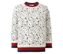 Pullover aus Spitze