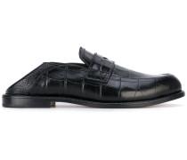 Loafer in Krodokilleder-Optik - women