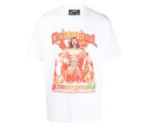 T-Shirt mit Wrestler-Print