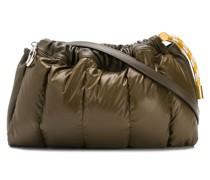 padded drawstring crossbody bag