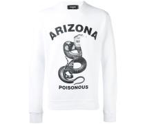 Sweatshirt mit 'Arizona snake'-Print - men