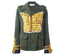 Military-Jacke mit Print