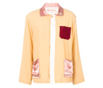 peaked collar jacket