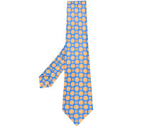 micro print tie