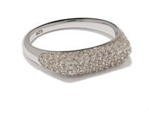 'Knut' Ring mit Kristallen