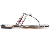 Flip-Flops mit Blumenmuster