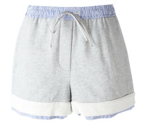 - Shorts im Lagen-Look - women - Baumwolle - M