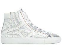 'Serpentine' High-Top-Sneakers