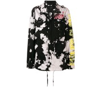 Jacke mit Farbklecks-Print