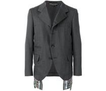 panel detail suit jacket