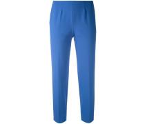 - Cropped-Hose aus Baumwollstretch - women