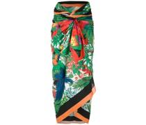 Sarong mit tropischem Print