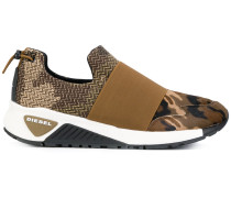 strapped slip-on sneakers