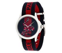 Armbanduhr mit Stoffband