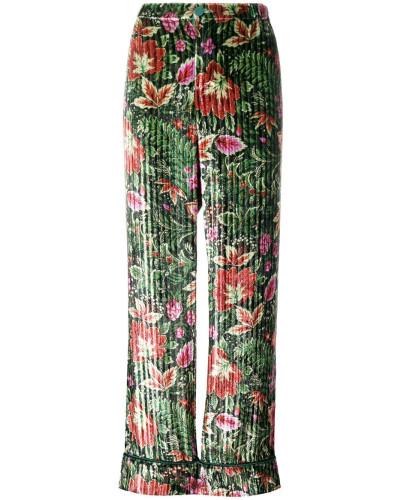 Hose mit Blütenmuster