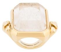 Großer Ring mit Kristall