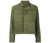Military-Jacke mit klassischem Kragen