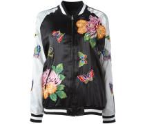 - Florale Bomberjacke - women - Polyester - XS