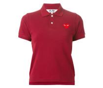 Poloshirt mit Herz-Applikation