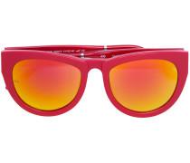 thick rim gradient sunglasses