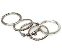 Set aus fünf Ringen