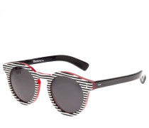 'Leonard 2' Sonnenbrille mit gestreiftem Design
