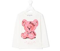 Langarmshirt mit Teddybär-Print