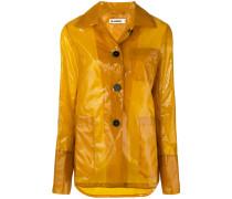 vinyl rain jacket