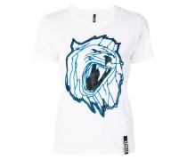 T-Shirt mit Löwen-Motiv