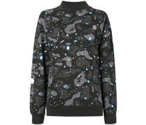 A BATHING APE® Sweatshirt mit Stehkragen