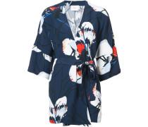 Anna floral wrap blouse - Unavailable